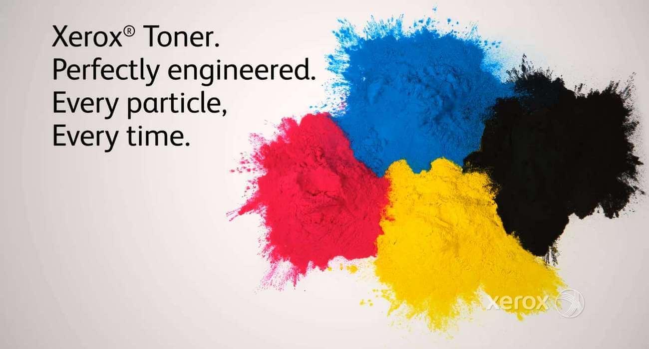 Alkuperäinen Xerox-värijauhe