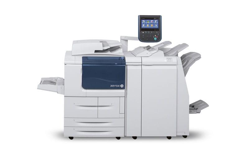 Xerox D95A – D110 – D125 kopimaskine – printer og D110 – D125 printer